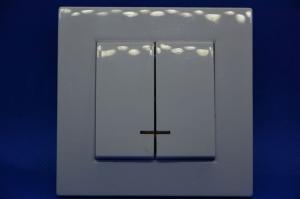 Выключатель 2кл СУ  с подсветкой Форза 10А 250 В   АВS   904126