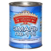 Эмаль ПФ-115  БЕЛАЯ 0,8кг/14/