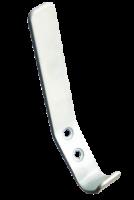 Крючок вешалка №31  серебристый  металлик