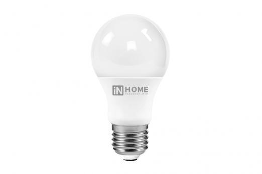 Лампа светод. HOME 10 Вт/90Вт/Е27 6500   LED-А60 холодный свет