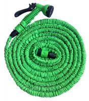 Шланг полив.растяг. 60 м латексный зеленый