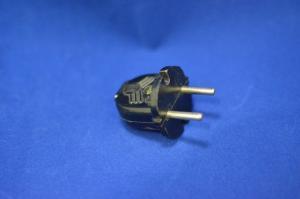 Вилка В6-001 плоская черная