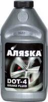 Тормозная жидкость Аляска DOT-4 /12 шт 455 гр