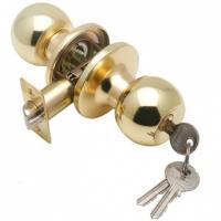 Замок  ЗШ-01 ASSOL золото с ключом  круглая 204428