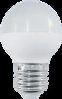 Лампа светод. Шар  Прогресс 9 Вт/Е27  6500 К
