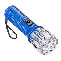 Фонарик мини 1 LED, 3хLR 41, пластик 10х3 см/198044