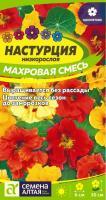 Цветы Настурция Махровая смесь низкорослая/Сем Алт/цп 0,5 гр.