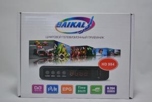 Ресивер эфирный цифровой DVB-T2 HD,