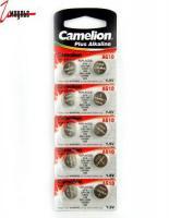 Батарейка табл. для часов Camelion №10*10 шт