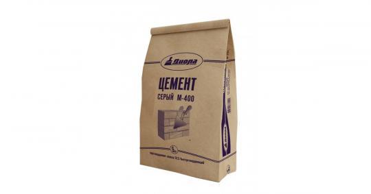 Цемент серый Омск/2кг/12 шт. ПЦ-400 М
