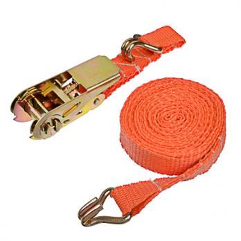 Стяжка для груза  с храповиком 110мм, 4м,шир 25 мм 500/900 кг 746037