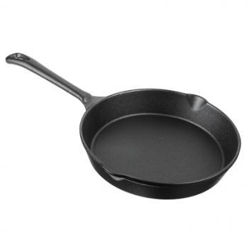 Сковорода чугун,2 слива, d20см 808-002