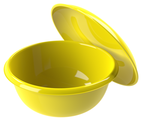 Миска с крышкой-тарелкой 5л, Альтпласт