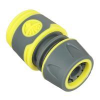 Соединитель Коннектор для шланга 1/2 с аквастопом 169028 обрезиненное покрытие