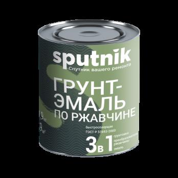 Эмаль ГРУНТ 3 в 1 Коричнев. 0,9 кг