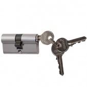 Сердцевина д/замка ЦМ 60 мм 3 ключа хром 208054