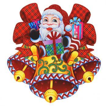 Панно Дед Мороз  31 см 336334