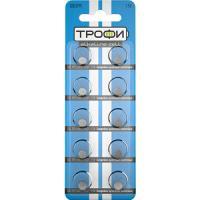 Батарейка  табл. №0*10 шт Трофи
