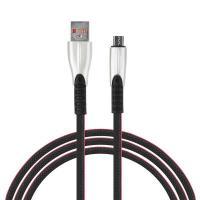 Шнур д/зарядки смартфонов 2А  микро USB 1 м Кобра  905043