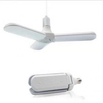 Лампа Раскладная светодиодная 30Вт/ Е27/6500К высокой мощности Т80-3 холодный свет