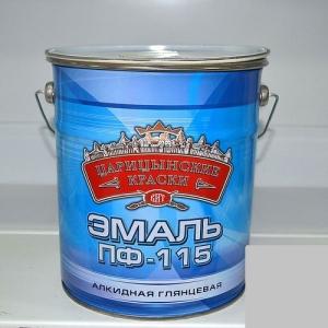 Эмаль Красная 5 кг. Цар.краски ПФ-115/3