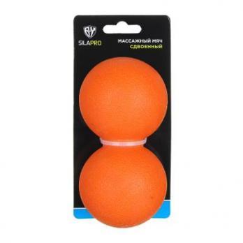 Мяч массажный сдвоенный,12х6 см 192041