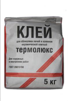 Клей  Термолюкс 5 кг. термостойк.