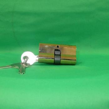 Сердцевина д/замка 60 мм 3 ключа золото