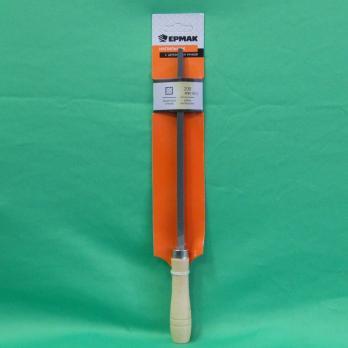 Напильник с дерев. ручкой квадр. 200мм