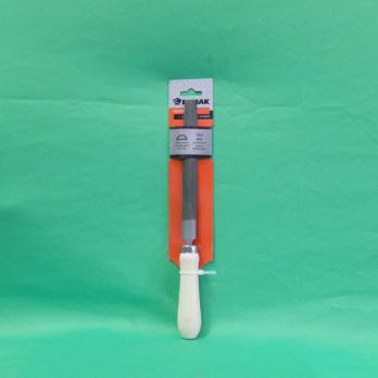 Напильник с дерев. ручкой п/круглый 150мм 645020