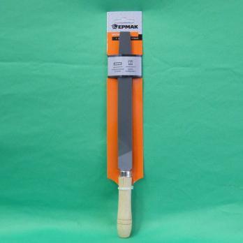 Напильник с дерев. ручкой плоский 200мм 645017