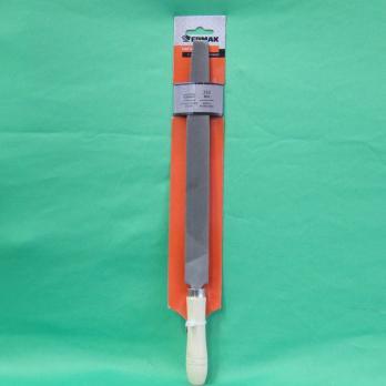 Напильник с дерев. ручкой плоский 250мм 645018