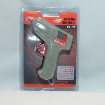 Пистолет клеевой 7мм 20W-220V /646261/