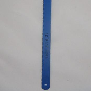Полотно ножовочное по металлу закаленный зуб 663691 синее