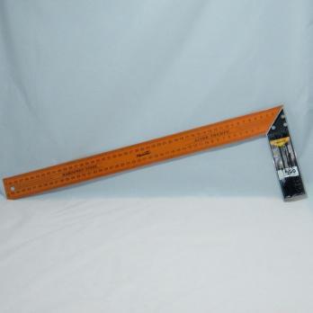 Уголок-линейка метал 500мм SPARTA оранж