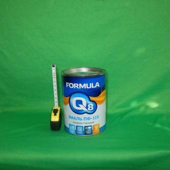 Эмаль черная 0,9кг/14 ПФ-115 FORMULA Q8