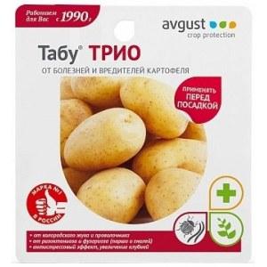 Табу ТРИО  (3 ампулы)/24 шт для обработки картофеля