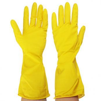 Перчатки резиновые Ветта желтые М 447005