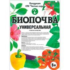 Биопочва 5 литров В УПАКОВКЕ 10 ШТ
