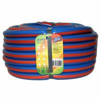 Шланг полив. Синий  с  оранжевой  полосой .3/4 25 м ПВХ армирова 3-х слойный