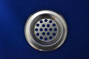 Сеточка в раковину маленькая металл 6 см 889-412
