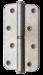 Петля накладная ПН1-130 пол. белая правая *30